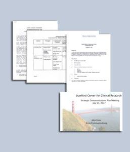 <h6>Strategic Communications Planning</h6>